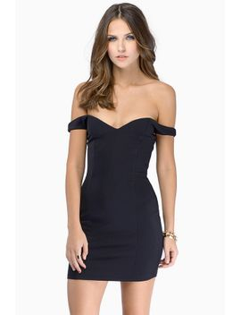 in-the-meadows-black-bodycon-dress by tobi