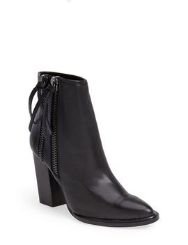 marando-pointy-toe-leather-bootie by steve-madden