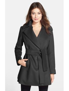 beverly-wool-&-cashmere-wrap-coat-(regular-&-petite) by trina-turk