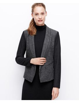 felted-wool-colorblock-jacket by ann-taylor