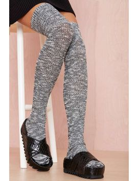 dice-thigh-high-socks by nasty-gal