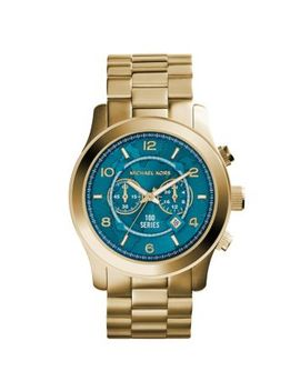 watch-hunger-stop-oversized-runway-gold-tone-stainless-steel-watch by michael-kors