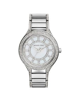 kerry-pavé-silver-tone-watch by michael-kors