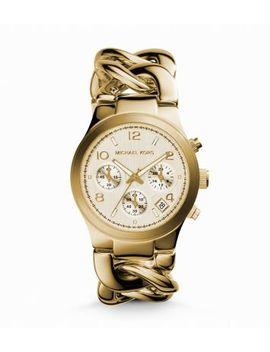 runway-twist-gold-tone-watch by michael-kors