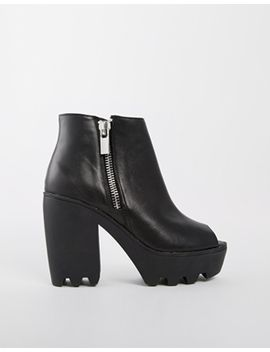 river-island-peepo-grunge-sole-ankle-boots by river-island