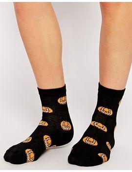 asos-halloween-pumpkin-socks by asos-collection