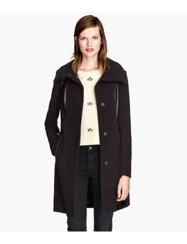 fitted-coat by h&m