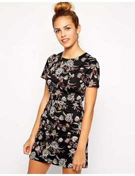 new-look---robe-droite-à-fleurs by new-look