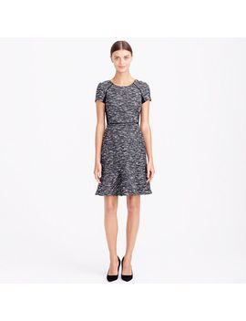 mixed-tweed-dress by jcrew