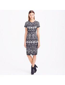 blurred-ikat-dress by jcrew