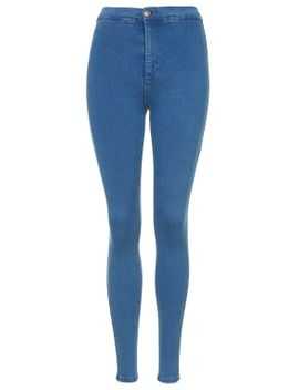 moto-pretty-blue-joni-jeans by topshop
