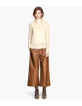 wide-leg-pants by h&m