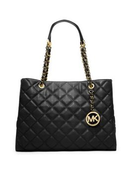 susannah-quilted-leather-large-tote by michael-kors
