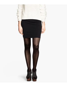 tights-with-motif by h&m