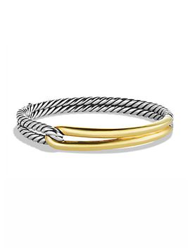 labyrinth-single-loop-bracelet-with-gold by david-yurman