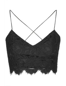 strap-lace-bralet by topshop