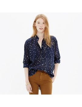 collarless-popover-shirt-in-rosebud-scatter by madewell