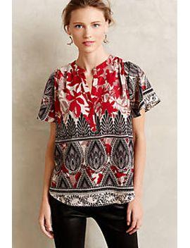 maritsa-blouse by anthropologie