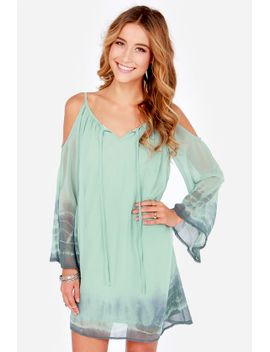 breezy-does-it-sage-green-tie-dye-shift-dress by lulus