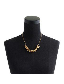 brass-droplet-necklace by jcrew