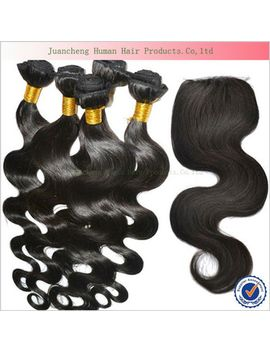 beauty-unprocessed-human-hair-with-closure-cheap-love-body-wave-virgin-peruvian-hair-with-closure--4pcs_bundle by ali-express
