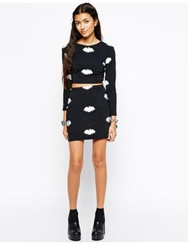 your-eyes-lie-mini-bodycon-skirt-with-all-over-bat-print-co-ord by your-eyes-lie