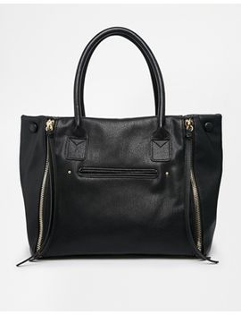 asos-slouch-handheld-bag-with-double-zip by asos-collection