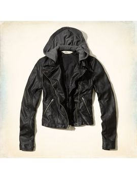 san-onofre-faux-leather-jacket by hollister