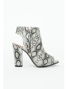perrie-peep-toe-block-heel-boots-snakeskin by missguided