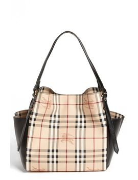small-haymarket-canterbury-tote by burberry
