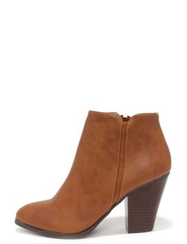 chic-street-tan-high-heel-ankle-boots by lulus