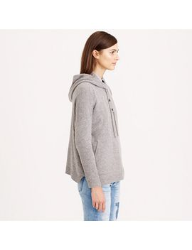 collection-cashmere-patch-pocket-hoodie by jcrew