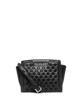 selma-studded-leather-mini-crossbody by michael-kors
