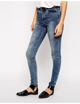 just-female-vintage-wash-high-waist-skinny-jeans by just-female