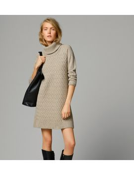 cable-knit-dress by massimo-dutti