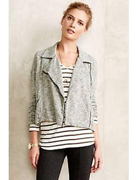 marled-moto-jacket by cloth-&-stone