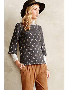 geo-gem-pullover by anthropologie
