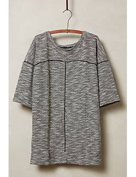 heathered-channels-pullover by anthropologie