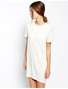asos-tailored-clean-shift-dress-in-crepe by asos-collection
