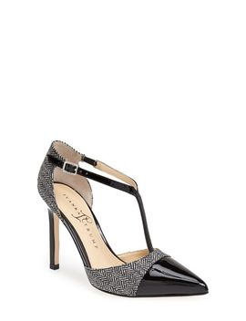 camela-t-strap-pointy-cap-toe-pump by ivanka-trump