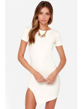 got-the-power-short-sleeve-ivory-dress by lulus