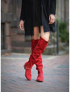 grandeur-over-the-knee-boot by free-people