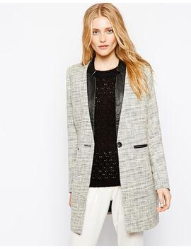 vila-longline-tailored-blazer by vila