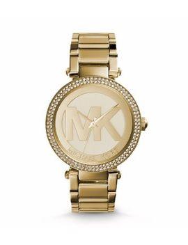 parker-pavé-gold-tone-watch by michael-kors