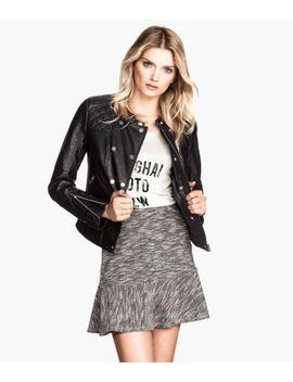 sweatshirt-skirt by h&m