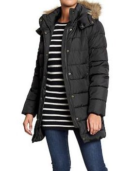 womens-hooded-long-quilted-coats by old-navy