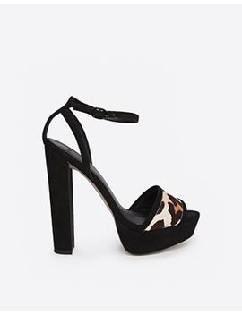 asos-hallucinate-leather-mix-heeled-sandals by asos-collection