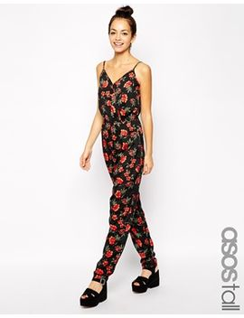 new-look-tall-strappy-printed-jumpsuit by new-look-tall