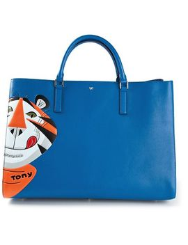 ebury-maxi-featherweight-frosties-tote by anya-hindmarch