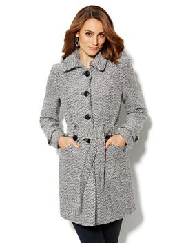 hooded-tweed-boucle-coat by new-york-&-company